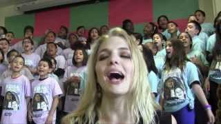 """Bottom Of The River"" Delta Rae & PS22 Chorus"
