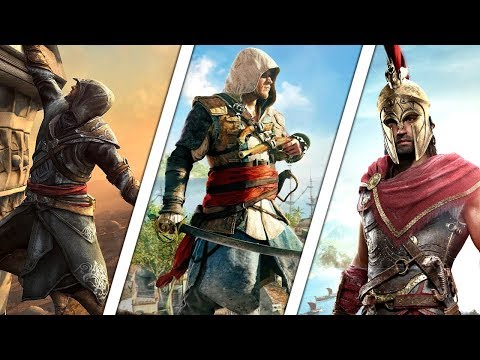 All ASSASSINS CREED Games In Order [2007-2019]