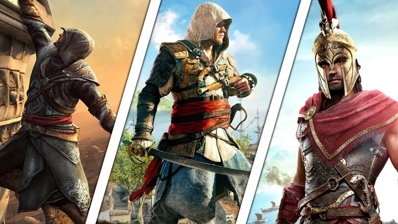 All Assassins Creed Games In Order 2007 2019 Youtube