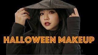 【ハロウィンメイク】レッド×ブラックメイク♡Halloween Makeup !