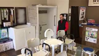Bathroom shower chairs and transfer Benches Nashville TN