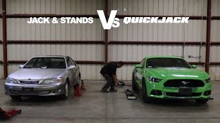 QuickJack vs. Jack Stands: Elimination Round