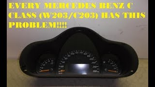 Every Mercedes Benz C class has this PROBLEM! (W203 C203)