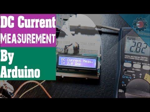 DC Current Measurement by Arduino