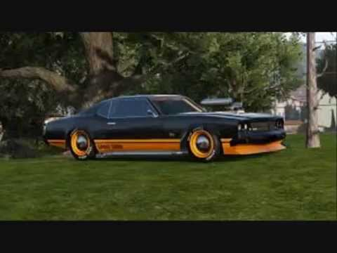 Gta V Top Muscle Cars Youtube