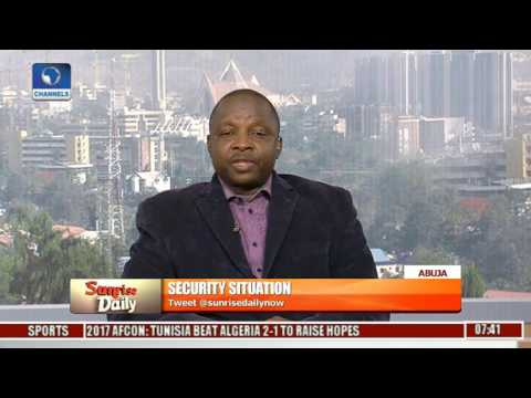 Sunrise Daily Examines Nigeria's Security Situation With Sadeeq Shehu Pt 2