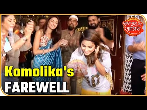 Hina Khan aka Komolika's FAREWELL on the sets of Kasauti Zindagi Kay 2