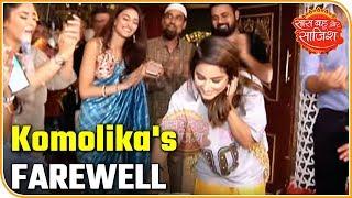 Hina Khan aka Komolika's FAREWELL on the sets of Kasauti Zindagi Kay 2