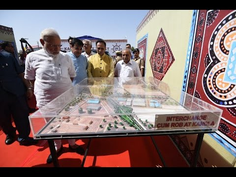 PM Modi at Inauguration & Foundation Laying Ceremony of various projects in Gandhidham, Gujarat
