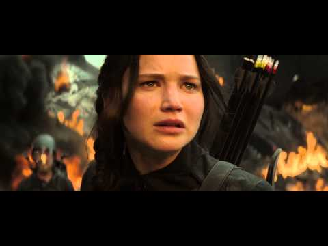 Mockingjay part 1 'IF WE BURN YOU BURN WITH US'