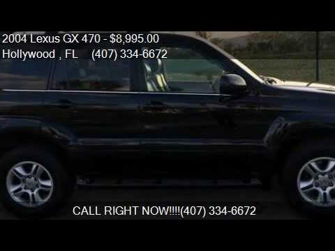 2004 lexus gx 470 base 4wd 4dr suv for sale in hollywood f youtube. Black Bedroom Furniture Sets. Home Design Ideas