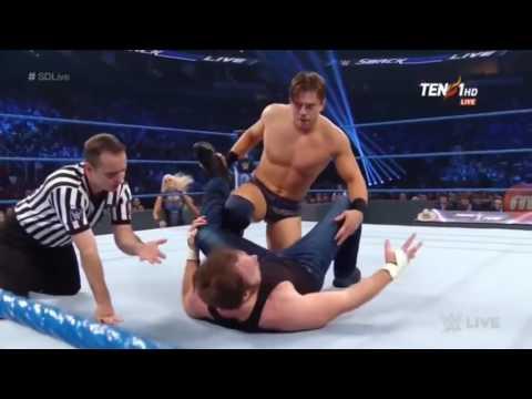 Dean Ambrose vs The Miz Full Match WWE Intercontinental Championship Dec 6,2016 HD thumbnail