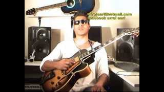 george benson ultimate guitar solo in Dmaj+breezin+free guitar tuition by errol earl