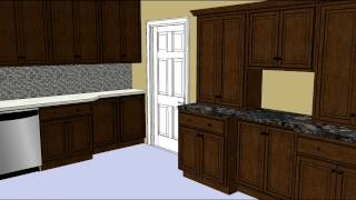 Kitchen Design Tip - Creative Use Of Wall Cabinets