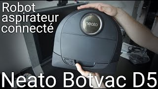 Neato Botvac D5 connected: le grand test !