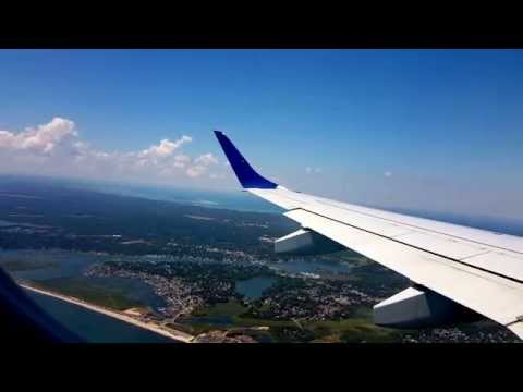 JetBlue E190 landing in Hyannis (HYA)