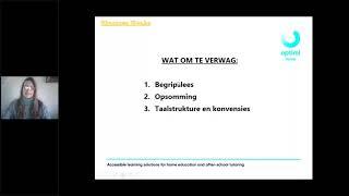 Graad 12 Afrikaans Huistaal - Eksamen wenke
