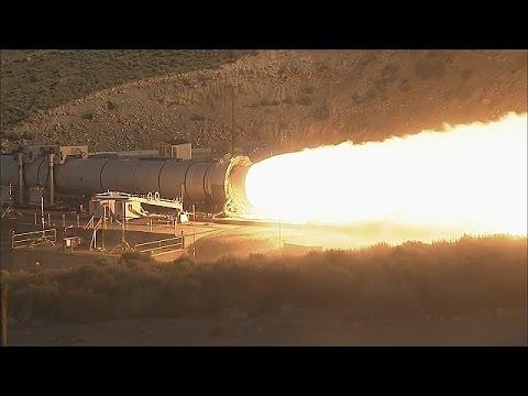 Испытания детонационного жидкостного ракетного двигателя на экологически чистом топливе