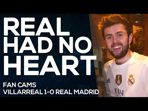 Villarreal 1-0 Real Madrid |Cristiano wasn't there |FAN CAMS