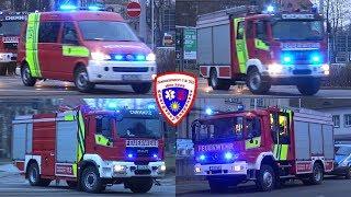 🚒 Löschzug Berufsfeuerwehr Chemnitz FW 1 + HLF 10 Feuerwehr Chemnitz-Siegmar