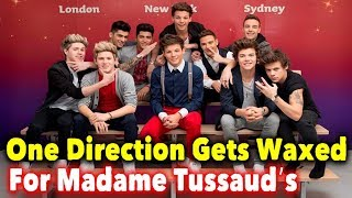 One Direction Gets Waxed For Madame Tussauds