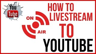 How To Live Stream On YouTube - Start To FInish(In this video tutorial I show you how to Live Stream to YouTube using their built in features! Remember this is Beta and things are definitely going to change over ..., 2015-08-12T22:00:00.000Z)