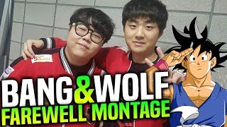 Goodbye Bang & Wolf! - SKT T1 Bang & Wolf Farewell Montage! | BEST MOMENTS OF BANG & WOLF