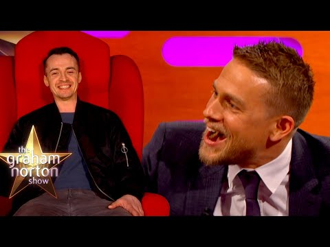 Charlie Hunnam's HILARIOUS Red Chair Story
