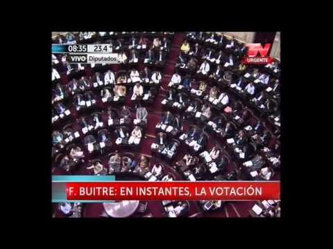Tras 19 horas, los diputados votaron a favor del acuerdo con los fondos buitre