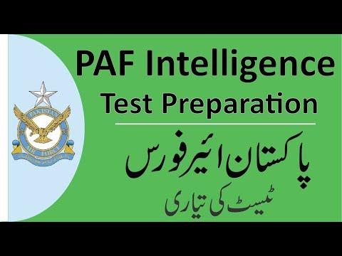 Paf Intelligence Test | Complete Solving Method And Some Tips | PAF Test Preparation 2019