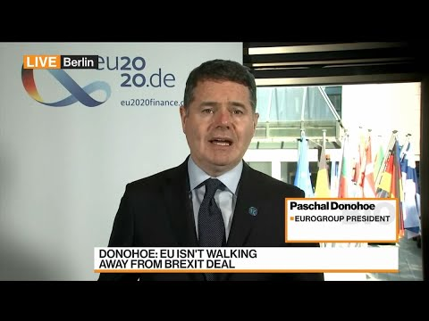 EU Has 'High Level of Solidarity' on Brexit: Ireland's Donohoe