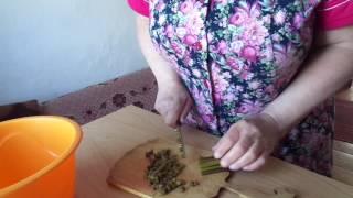 Приготовление папоротника орляка