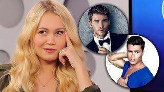 Kelli Berglund Builds Her Perfect Celebrity Boy: Bieber, Harry or Ross?!