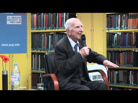 Q & A - A talk with Stephane Hessel at The American University of Paris