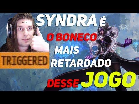 SYNDRA É O CAMPEÃO MAIS IDIOTA DO LOL