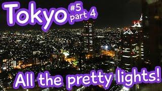 Tokyo Skyline at Night - Metropolitan Government Building - Tokyo vlog