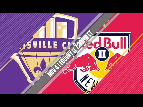 2017 #USLPLAYOFFS - Louisville City FC vs New York Red Bulls II 11/4/17