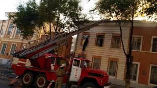 Пожар в УИПА (3 часть, локализация) 02.08.2018 Харьков