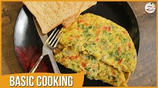 How To Make Egg Omelette  Healthy Breakfast  Basic Cooking  Indian Recipe by Archana in Marathi