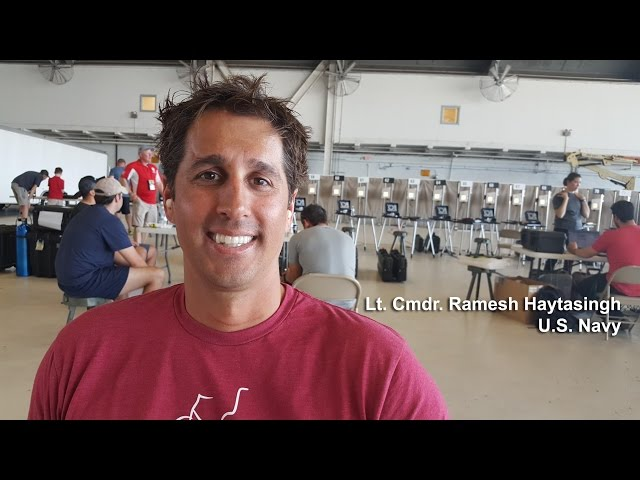Warrior Games: SOCOM Trials Lt. Cmdr. Ramesh Haytasingh