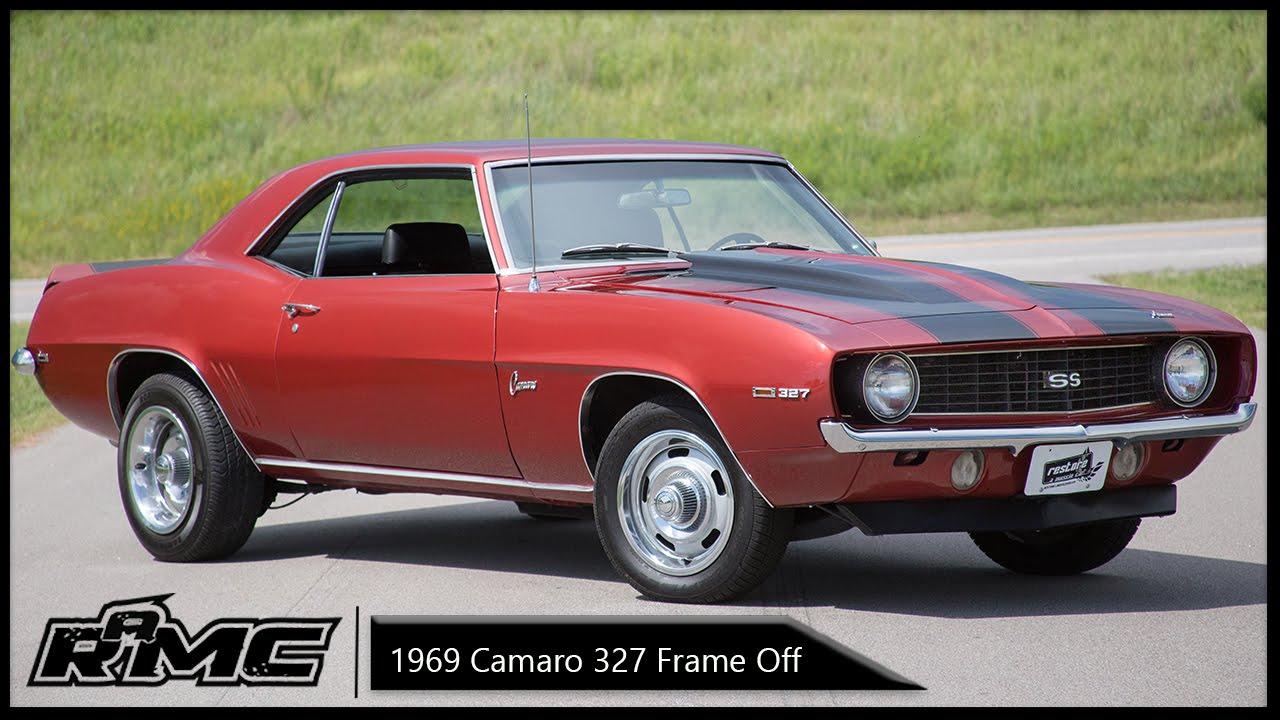 1969 Camaro Frame Off Restoration For Sale - YouTube
