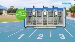 The fastest feeder in the world! - JENSEN Jenfeed Express Trio
