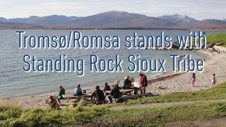 Tromsø/Romsa stands with Standing Rock Sioux Tribe