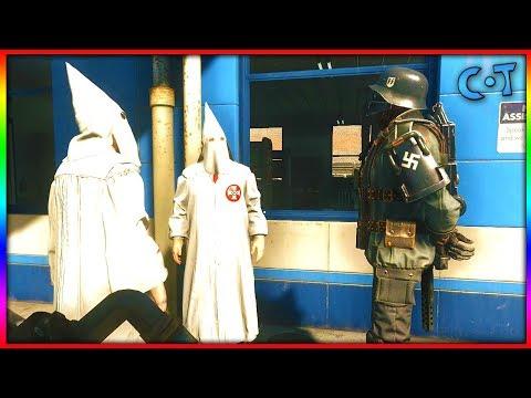 KKK vs Nazi - Wolfenstein 2: The New Colossus