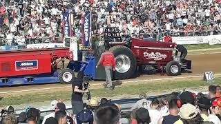 Tracteur Pulling Bernay DIABLE ROUGE
