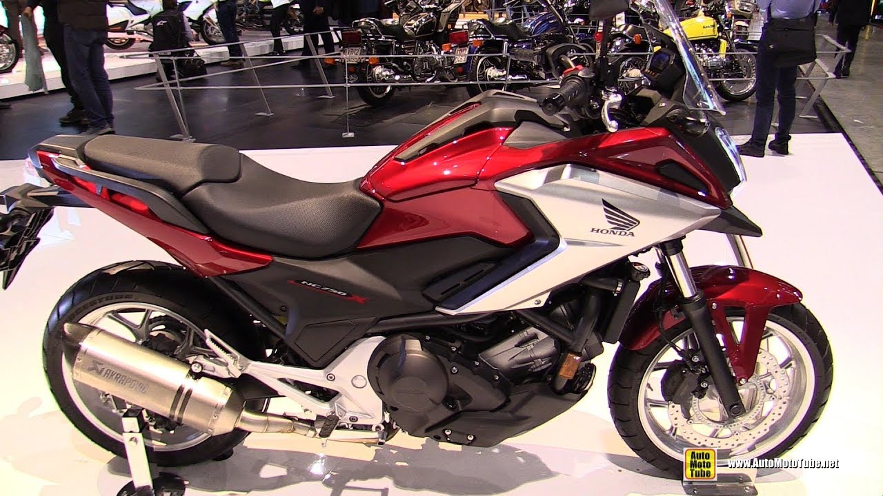 2018 honda nc750x dct walkaround 2017 eicma milan motorcycle exhibition youtube. Black Bedroom Furniture Sets. Home Design Ideas