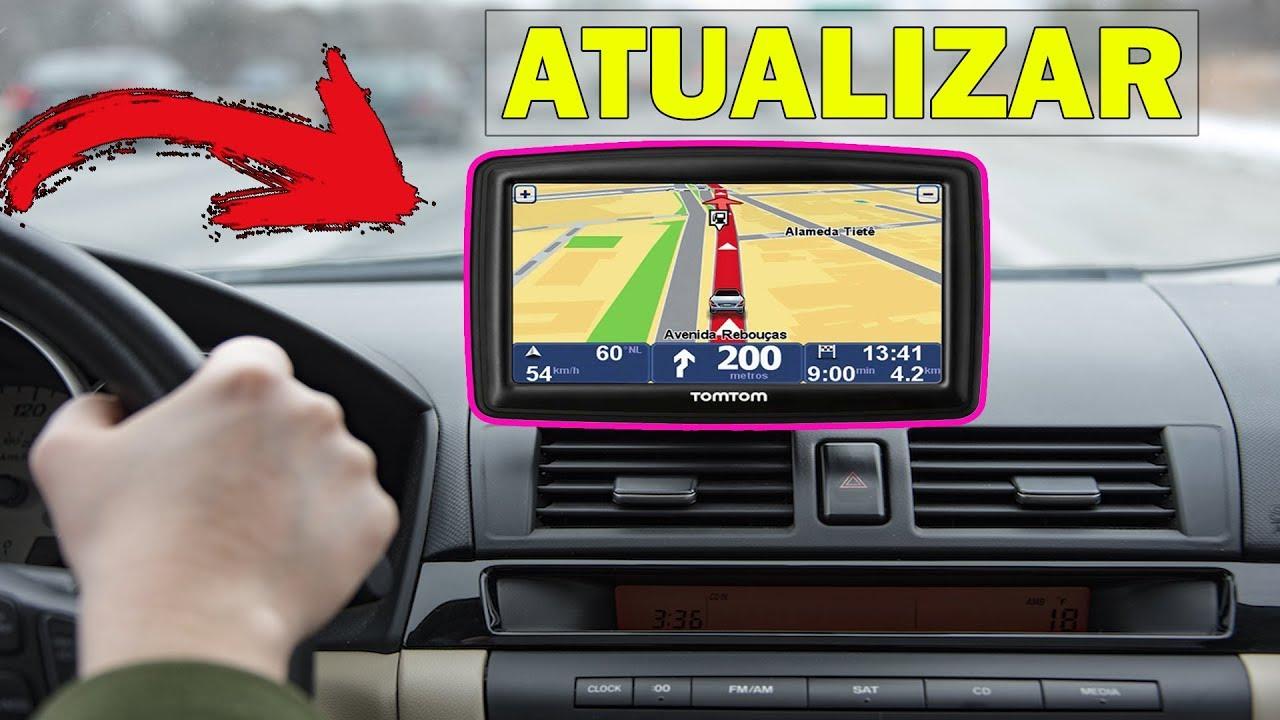 Como ATUALIZAR GPS TOMTOM PELO COMPUTADOR - MANEIRA SIMPLES E FÁCIL