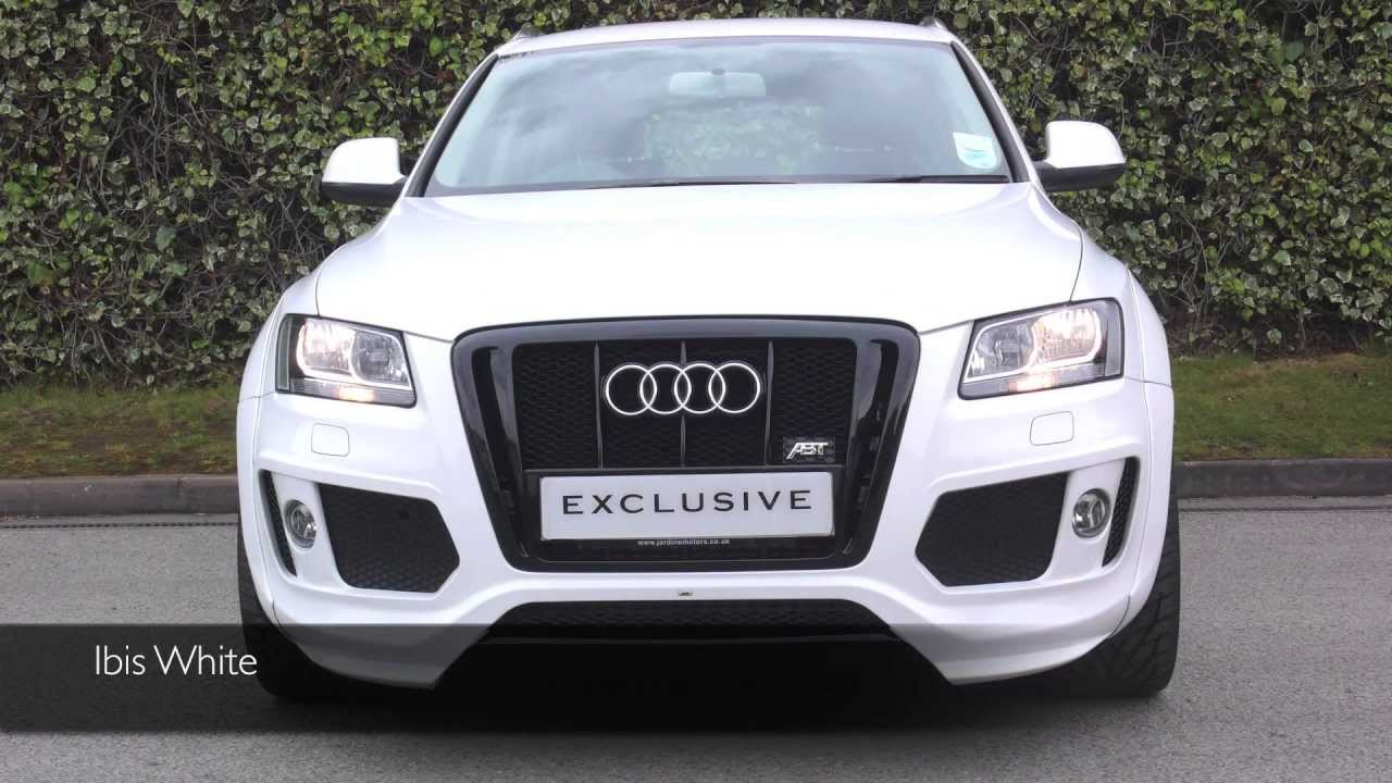 Audi Rsq5 2018 >> Exclusive Cars (GB) - Audi ABT Q5 - Ibis White - YouTube