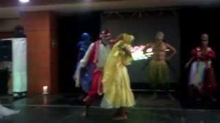 Shango baila en madrid presentacion de los orishas