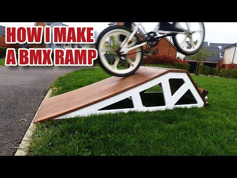 I'm making a ridiculous BMX KICKER RAMP!